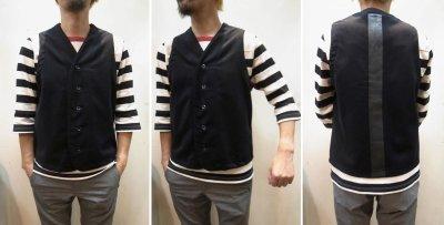 画像3: 50%OFF【Yarmo/ヤーモ】 Melton Reflective Vest
