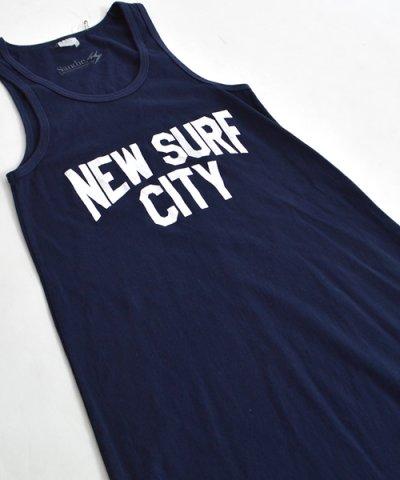 画像1: 【JACKSON MATISSE/ジャクソンマティス × Sandie.】 NICE NEW SURF CITY Tank Dress