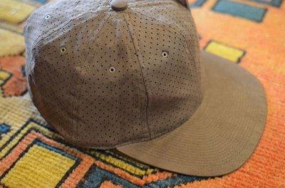 画像1: 【POTEN/ポテン】 DOUBLE SUEDE BASEBALL CAP