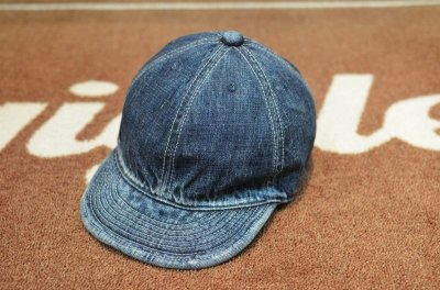 画像1: 【HIGHER/ハイヤー】 SELVEDGE DENIM CAP