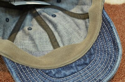 画像2: 【HIGHER/ハイヤー】 SELVEDGE DENIM CAP