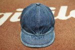 画像2: 【HIGHER/ハイヤー】 SELVEDGE DENIM CAP (2)