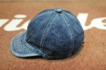 画像3: 【HIGHER/ハイヤー】 SELVEDGE DENIM CAP (3)