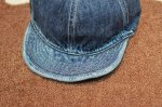 画像8: 【HIGHER/ハイヤー】 SELVEDGE DENIM CAP (8)