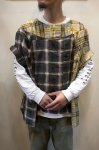 画像11: 【OLD PARK/オールドパーク】 COLLAR SLEEVE SHIRT FLANNEL (11)