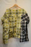 画像2: 【OLD PARK/オールドパーク】 COLLAR SLEEVE SHIRT FLANNEL (2)