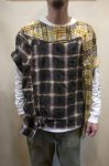 画像10: 【OLD PARK/オールドパーク】 COLLAR SLEEVE SHIRT FLANNEL (10)