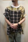 画像16: 【OLD PARK/オールドパーク】 COLLAR SLEEVE SHIRT FLANNEL (16)