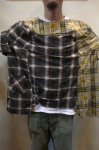 画像12: 【OLD PARK/オールドパーク】 COLLAR SLEEVE SHIRT FLANNEL (12)