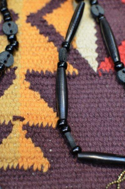 画像3: 【Rooster King&co./ルースターキング】 Black Cross Rosario Necklace ブラッククロス ロザリオネックレス