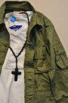 画像11: 【Rooster King&co./ルースターキング】 Black Cross Rosario Necklace ブラッククロス ロザリオネックレス (11)