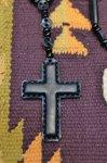 画像5: 【Rooster King&co./ルースターキング】 Black Cross Rosario Necklace ブラッククロス ロザリオネックレス (5)