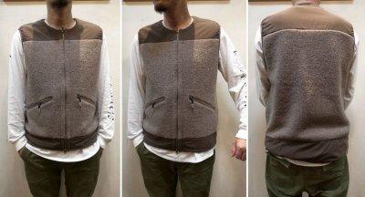 画像3: 【Mountain Equipment/マウンテンイクィップメント】 Wool Boa Vest ウールボアベスト