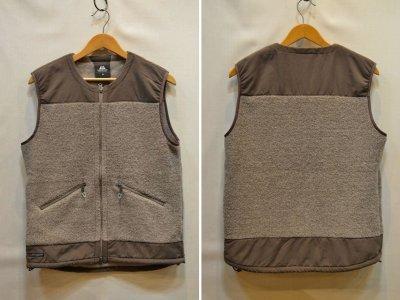 画像1: 【Mountain Equipment/マウンテンイクィップメント】 Wool Boa Vest ウールボアベスト