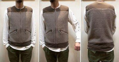 画像2: 【Mountain Equipment/マウンテンイクィップメント】 Wool Boa Vest ウールボアベスト