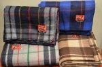 画像2: 【SWISS LINK】 Plaid Wool Blankets (2)