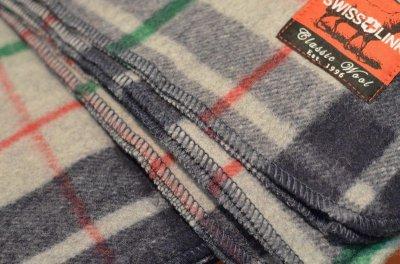 画像3: 【SWISS LINK】 Plaid Wool Blankets