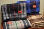 画像3: 【SWISS LINK】 Plaid Wool Blankets (3)