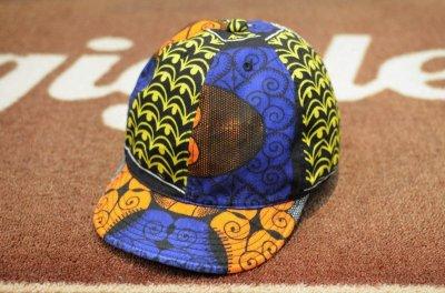 画像2: 【HIGHER/ハイアー】 AFRICAN BATIK KITENGE CAP