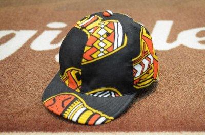 画像3: 【HIGHER/ハイアー】 AFRICAN BATIK KITENGE CAP