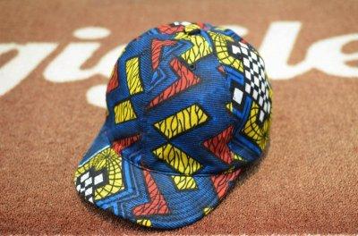 画像1: 【HIGHER/ハイアー】 AFRICAN BATIK KITENGE CAP