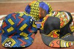 画像2: 【HIGHER/ハイアー】 AFRICAN BATIK KITENGE CAP (2)