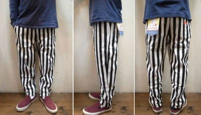 画像2: 【Cookman】 Chef Pants シェフパンツ 「Wide Stripe」