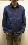 画像2: 【USEFULL/ユースフル】 PASEO JACKET DENIM (2)