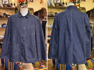 画像1: 【USEFULL/ユースフル】 PASEO JACKET DENIM