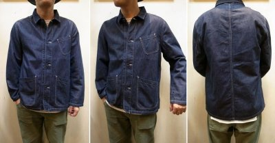 画像3: 【USEFULL/ユースフル】 PASEO JACKET DENIM