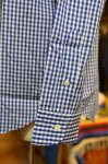 "画像10: 【Manual Alphabet/マニュアルアルファベット】 ""Bulging Fit"" GINGHAM B.D SHIRT (10)"