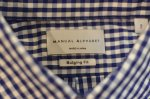 "画像13: 【Manual Alphabet/マニュアルアルファベット】 ""Bulging Fit"" GINGHAM B.D SHIRT (13)"