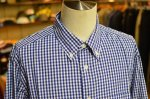 "画像9: 【Manual Alphabet/マニュアルアルファベット】 ""Bulging Fit"" GINGHAM B.D SHIRT (9)"