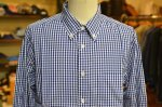 "画像8: 【Manual Alphabet/マニュアルアルファベット】 ""Bulging Fit"" GINGHAM B.D SHIRT (8)"