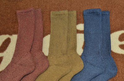 画像2: 【RoToTo/ロトト】 R1014  LOOSE PILE SOCKS
