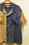 画像8: 【Remake by K】 リネン 半袖オープンカラーシャツ (8)