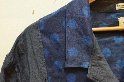 画像2: 【Remake by K】 リネン 半袖オープンカラーシャツ