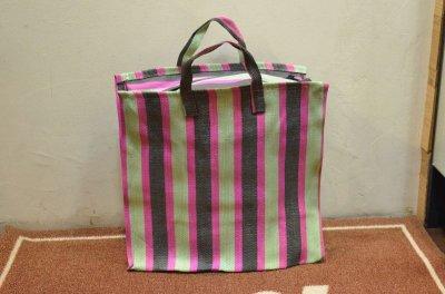画像1: INDIA MARKET BAG インディアマーケットバッグ