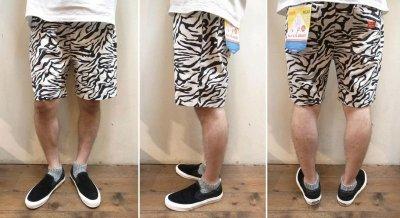 画像3: 【Cookman】 Chef Short Pants 「ZEBRA」