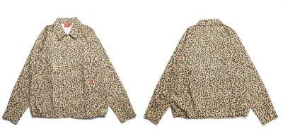 画像1: 【COOKMAN/クックマン】 Delivery Jacket 「Leopard」