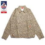 画像1: 【COOKMAN/クックマン】 Delivery Jacket 「Leopard」 (1)