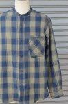 画像8: 【DE-NA-LI/デナリ】 スタンドカラー ネルシャツ (8)