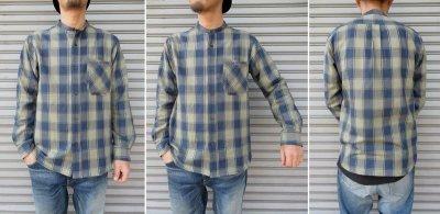 画像3: 【DE-NA-LI/デナリ】 スタンドカラー ネルシャツ