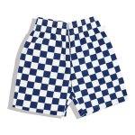 画像1: 【Cookman】 Chef Short Pants 「Checker Navy」 (1)