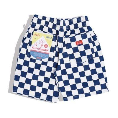 画像2: 【Cookman】 Chef Short Pants 「Checker Navy」
