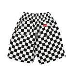 画像2: 【Cookman】 Chef Short Pants 「Checker Black」 (2)