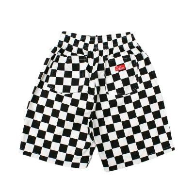 画像2: 【Cookman】 Chef Short Pants 「Checker Black」