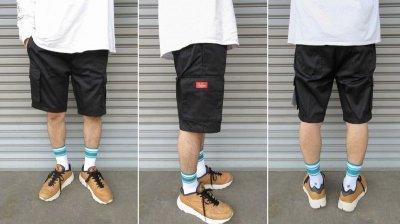 画像3: 【Cookman】 Chef Short Pants CARGO BLACK