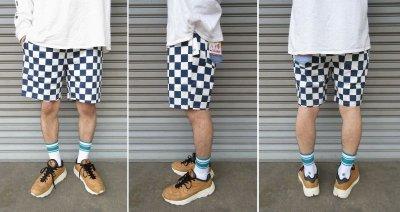 画像3: 【Cookman】 Chef Short Pants 「Checker Navy」