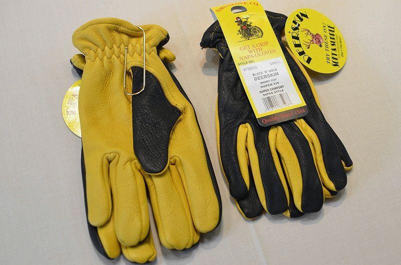 画像1: 【NAPA GLOVE/ナパグローブ】 Deerskin Glove ディアスキングローブ (1)